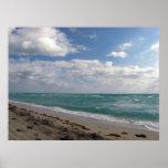Playa del sur poster