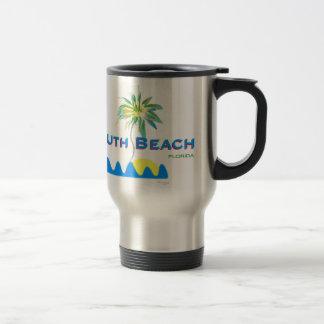 Playa del sur soleada, la Florida Taza De Viaje