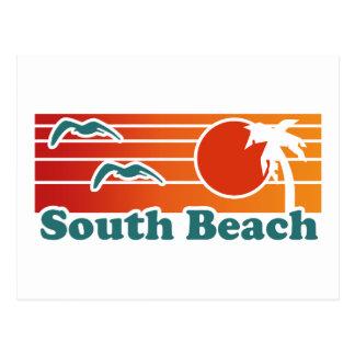 Playa del sur tarjeta postal