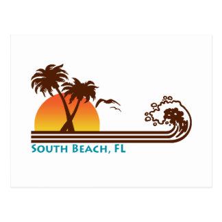 Playa del sur tarjetas postales
