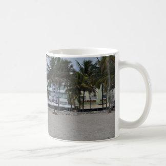 Playa del sur taza de café