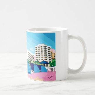 PLAYA DEL SUR, taza de café de MIAMI, la FLORIDA