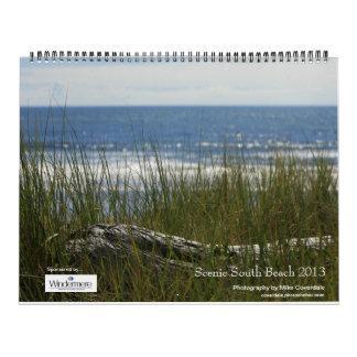 Playa del sur Windermere escénico 2013 Calendario