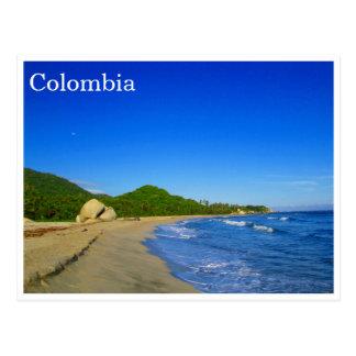 playa del tayrona tarjeta postal