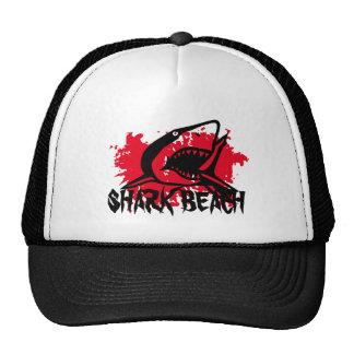 Playa del tiburón gorro