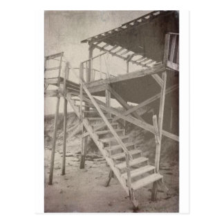 Playa del vintage tarjeta postal