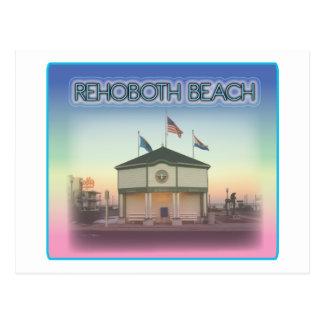 Playa Delaware de Rehoboth - escena de la avenida  Postales