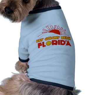 Playa dominante de la colonia, la Florida Camiseta De Perrito