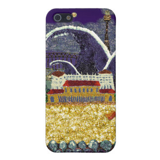 playa el pipe% púrpura de la neblina el | Bondi de iPhone 5 Cárcasa