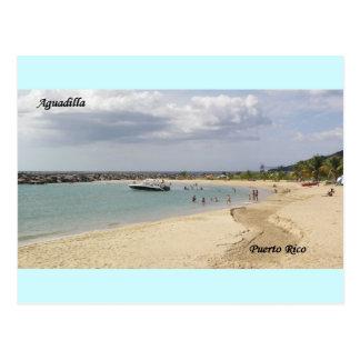 Playa en Aguadilla Puerto Rico, Postcard