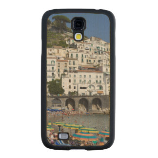 Playa en Amalfi, Campania, Italia Funda De Galaxy S4 Slim Arce