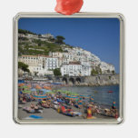 Playa en Amalfi, Campania, Italia Ornamento De Navidad