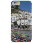 Playa en Amalfi, Campania, Italia Funda Barely There iPhone 6 Plus