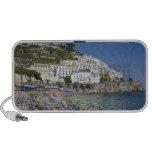 Playa en Amalfi, Campania, Italia Laptop Altavoz