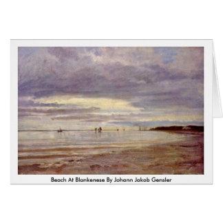 Playa en Blankenese de Juan Jacobo Gensler Tarjetas