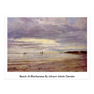 Playa en Blankenese de Juan Jacobo Gensler Postal