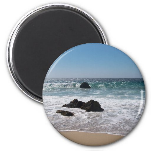 Playa en Carmel, CA Imán De Frigorífico