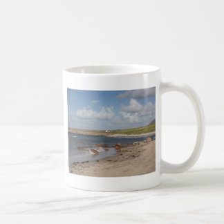 Playa en Donegal, Irlanda Tazas De Café