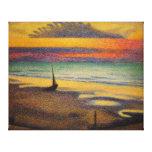 Playa en el atraco de Jorte Lemmen 1891 Impresión En Lona Estirada