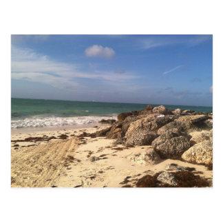 Playa en el puerto Lucaya, puerto franco, Bahamas Postales