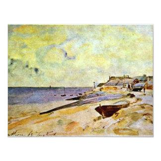 Playa en el Ste. Alocución de Jongkind Johan Invitaciones Personales