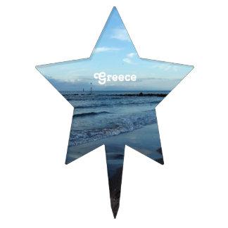 Playa en Grecia Figuras Para Tartas