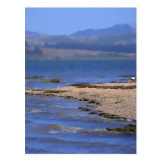 Playa en la bahía postal