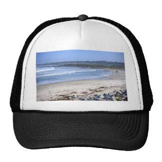 Playa en la impulsión gorra