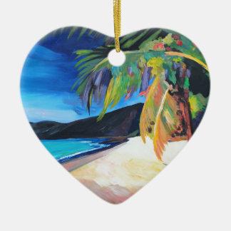Playa en las Islas Vírgenes de St Thomas los Adorno Para Reyes