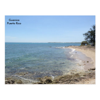 Playa en Mar Caribe Guanica Postcard