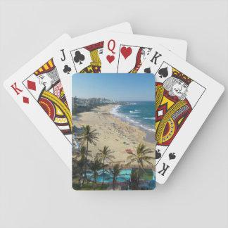 Playa en Margate, costa sur, Kwazulu Natal Naipes