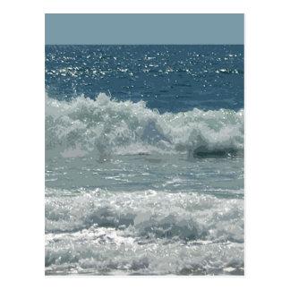 Playa en Montauk Tarjetas Postales