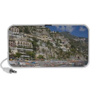 Playa en Positano, Campania, Italia Mp3 Altavoz