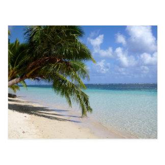 Playa en Samoa Americana Savaii