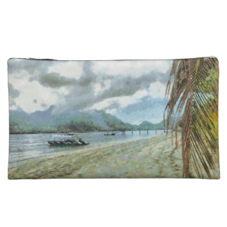 Playa en un paraíso tropical