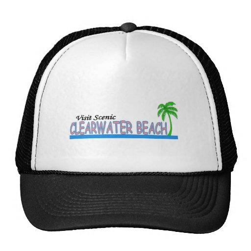 Playa escénica de Clearwater de la visita Gorro De Camionero