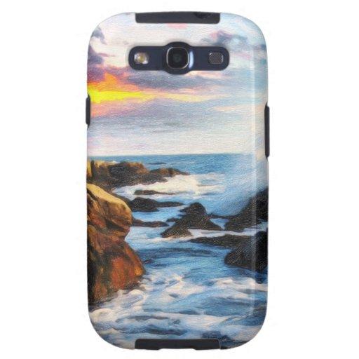 playa espumosa galaxy s3 funda