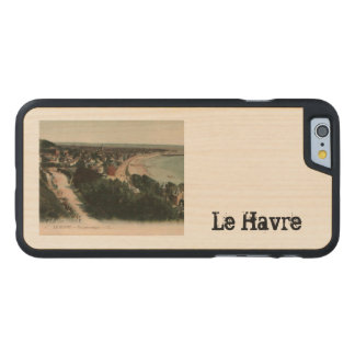 Playa Francia de Le Havre Funda De iPhone 6 Carved® Slim De Arce