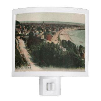 Playa Francia de Le Havre Lámpara De Noche