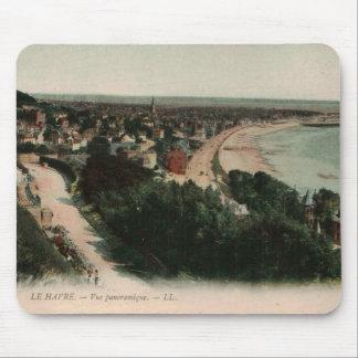 Playa Francia de Le Havre Alfombrilla De Ratón