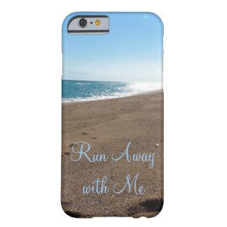 Playa funcionada con lejos conmigo cita funda de iPhone 6 barely there