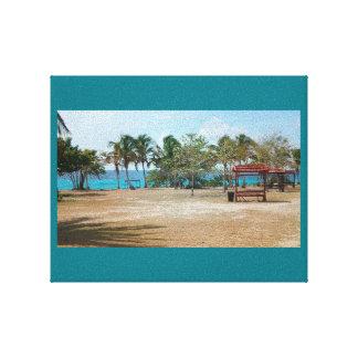 Playa Giron, Cuba - Punta Perdiz Canvas Print