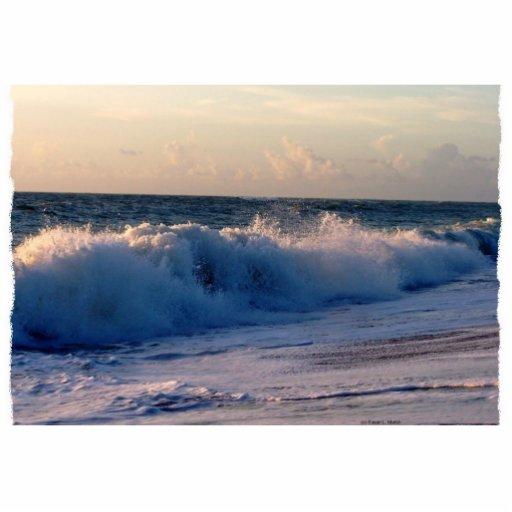 Playa grande de la Florida de la salida del sol de Escultura Fotográfica