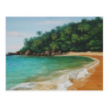 Playa grande tarjeta postal