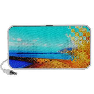 playa grandemente cambiada notebook altavoces