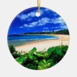 Playa Haena Kauai Hawaii Ornamento Para Reyes Magos