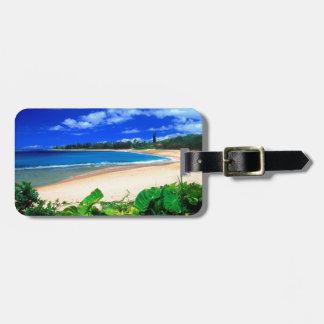 Playa Haena Kauai Hawaii Etiquetas Para Maletas