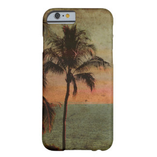 Playa hawaiana del vintage de PixDezines, hapuna Funda Para iPhone 6 Barely There