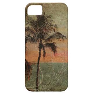 Playa hawaiana del vintage de PixDezines, hapuna iPhone 5 Funda