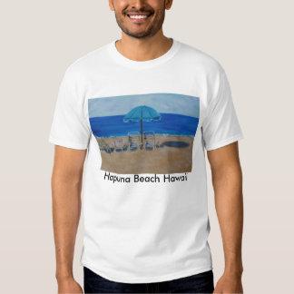 Playa Hawaii de Hapuna Poleras